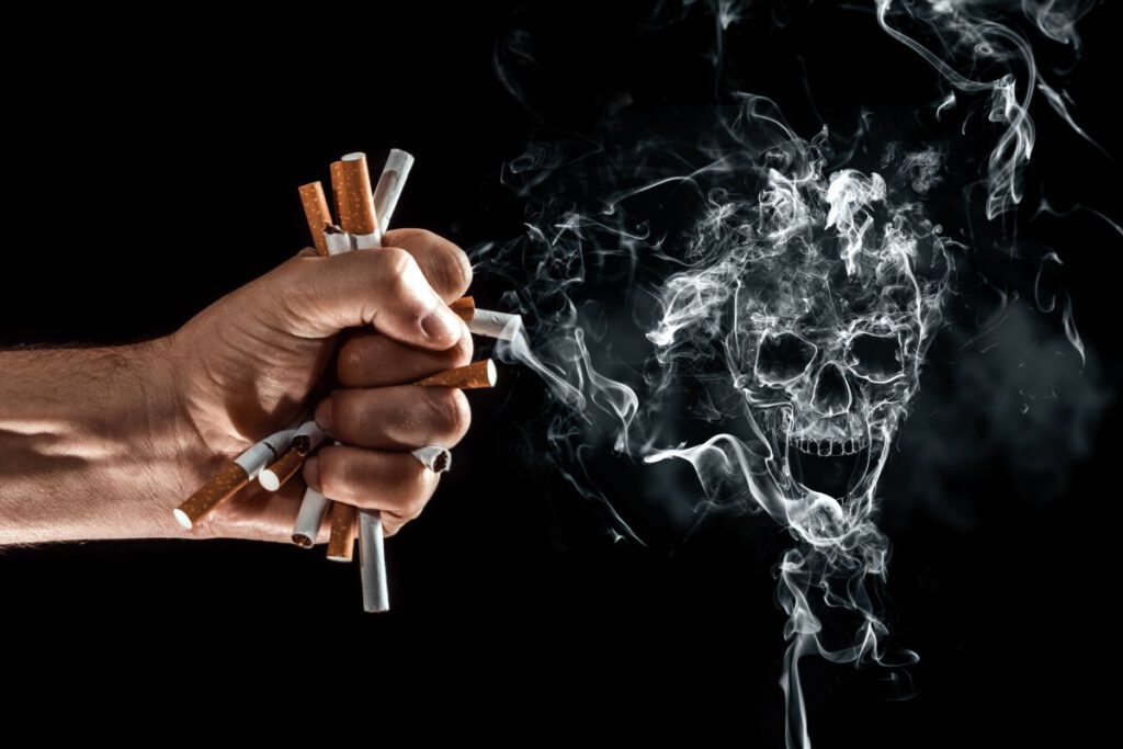 Nowotwory a palenie papierosów