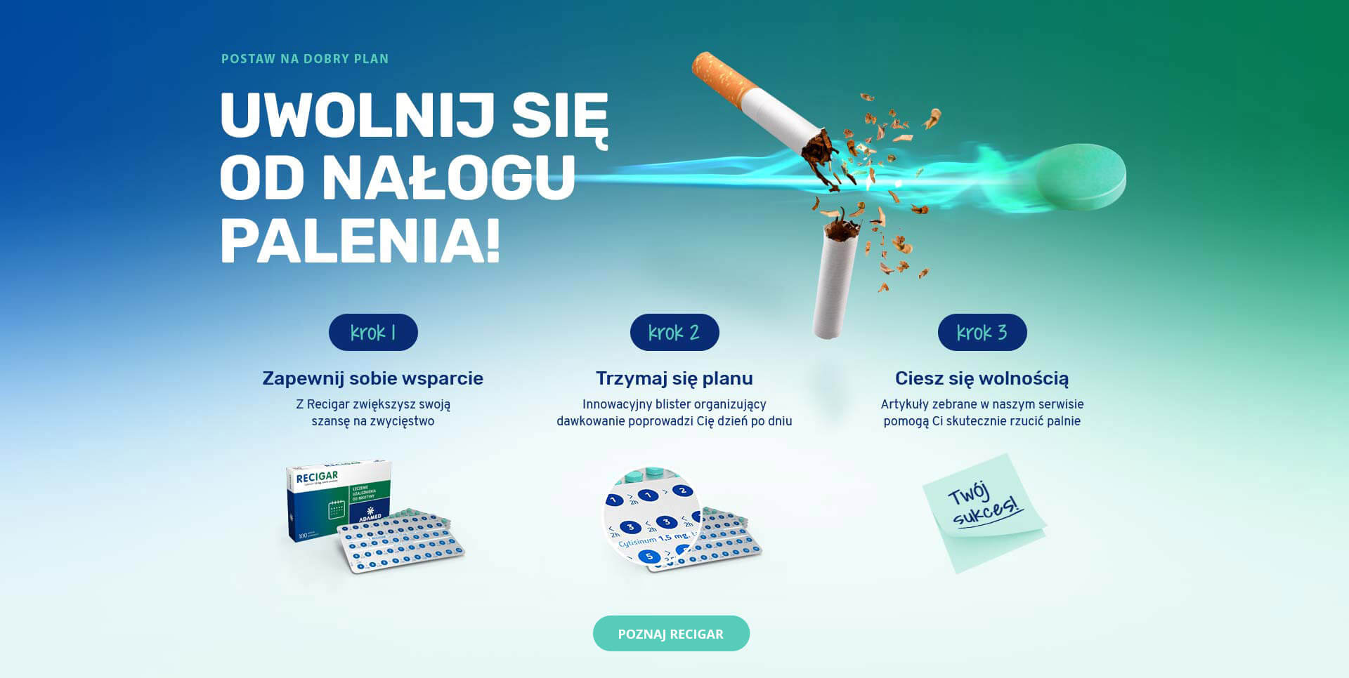 Uwolnij się od nałogu palenia w 3 krokach